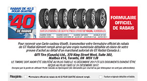 Coupon GT Radial